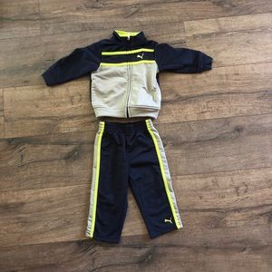 12 month toddler Puma Tracksuit - worn once!